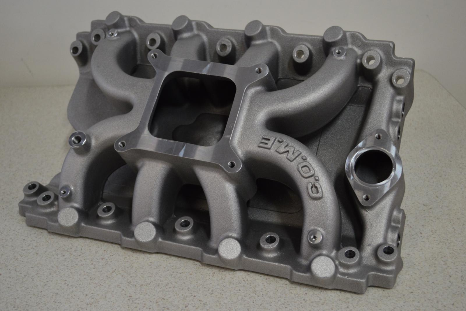 Intake Manifolds Come Racing