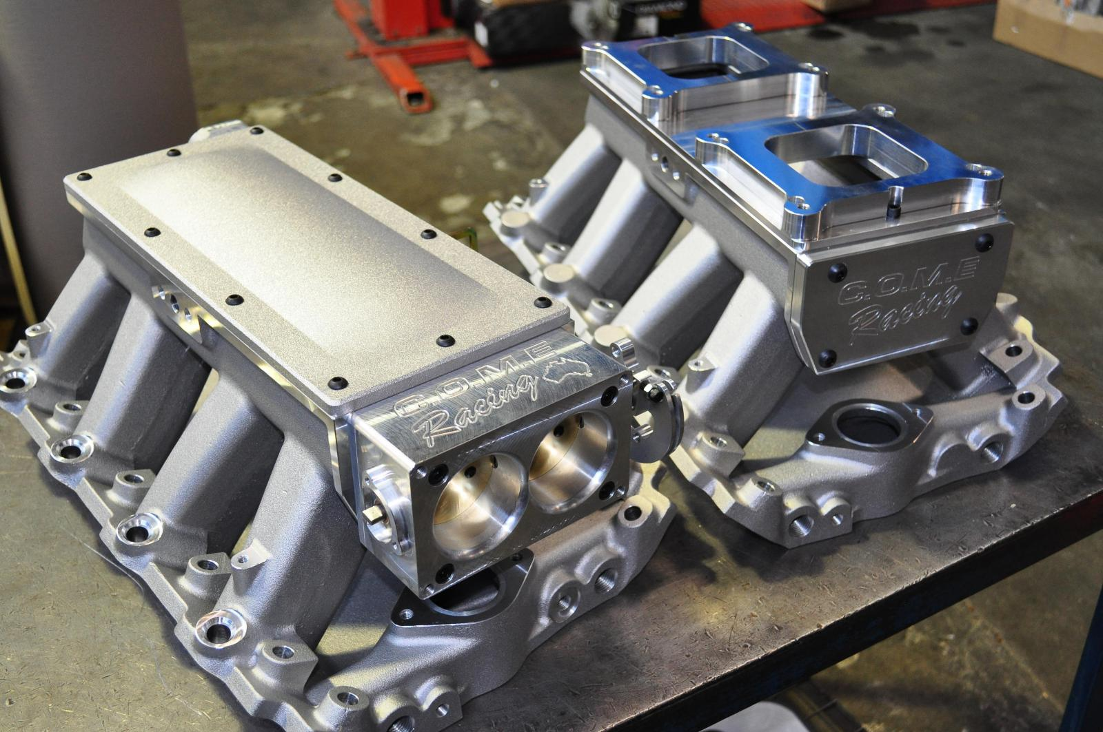 Come Twin Throttle Body And Tunnel Ram Intakes Come Racing