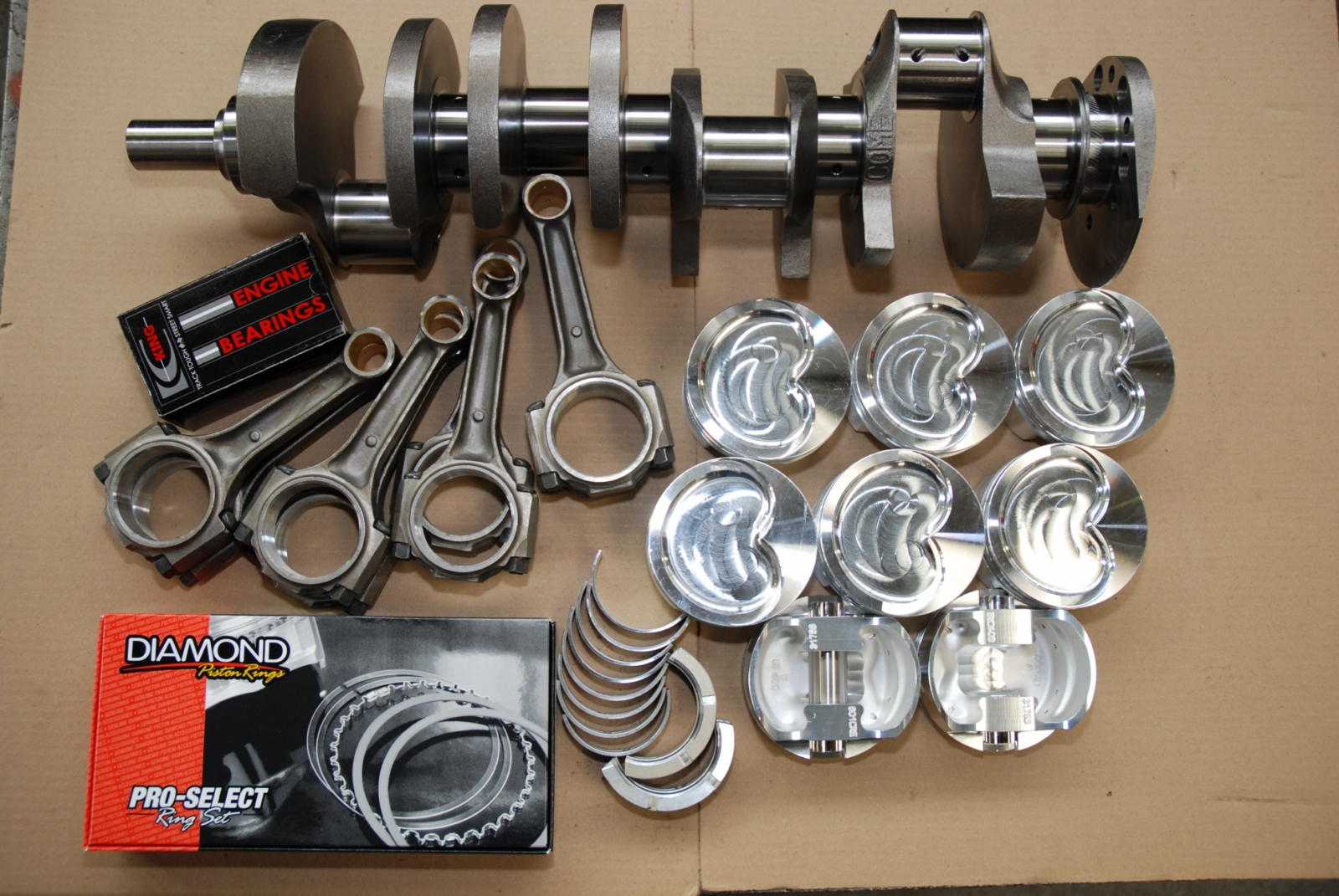 Holdenstrokerkit on Chevy 350 Engine Rebuild Kit